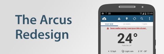 Case Study: Redesigning the Arcus mobile app